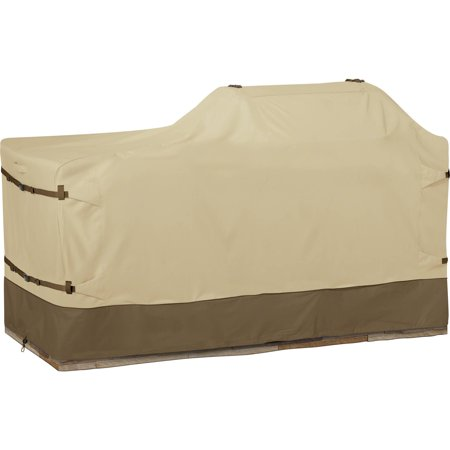 Classic Accessories Veranda™ Patio Island Grill Cover - Left or Right Grill Head, Medium, 78-Inch L,