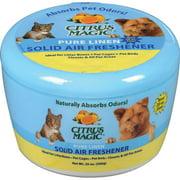 Citrus Magic Pet 20-Ounce Solid Air Freshener, Pure Linen
