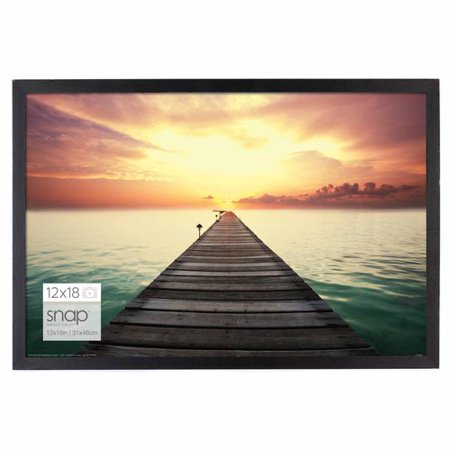 12 x 18 black snap wood frame