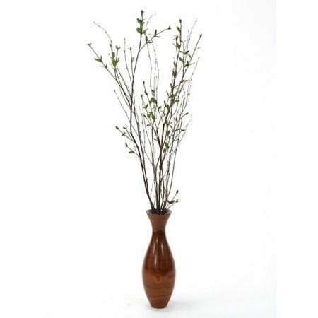 Distinctive Designs Silk Ligustrum And Birch Branches Tree In Vase