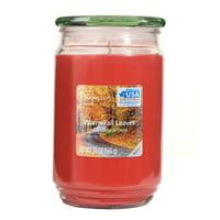 Mainstays Warm Fall Leaves Single-Wick 20 oz. Jar Candle