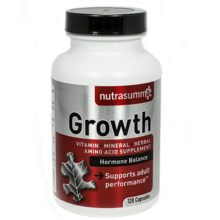 Cortisol Growth Hormone - Growth Hormone Balance By Nutrasumma - 120 Capsules