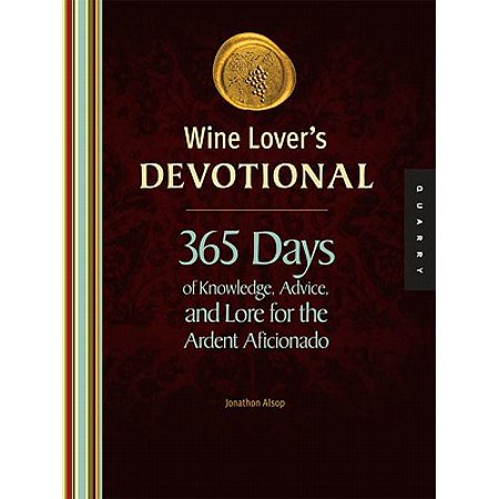Wine Lover's Devotional - eBook For true oenophiles, there is discipline, devotion, and strict traditions to follow. For the general population, oenophilia is simply  the love of wine . By nature, wine lovers are collectors: bottles, vintages, countries of origin, and more. Wine Lover's Devotional is a year-long collection of insight and eclectica for the passionate wine lover. Each day of the week is given a wine-themed category: Monday: The Language of Wine; Tuesday: Wine Grapes; Wednesday: Wine & Food; Thursday: Putting Wine in its Place (Wine Geography); Friday: People Make Wine, Wine Makes People; and Saturday + Sunday: Weekend Wine Adventure. Wine Lover's Devotional uses hundreds of years of tradition, tasting notes, recipes, colorful trivia, and intriguing histories to inspire the oenophile in all of us.