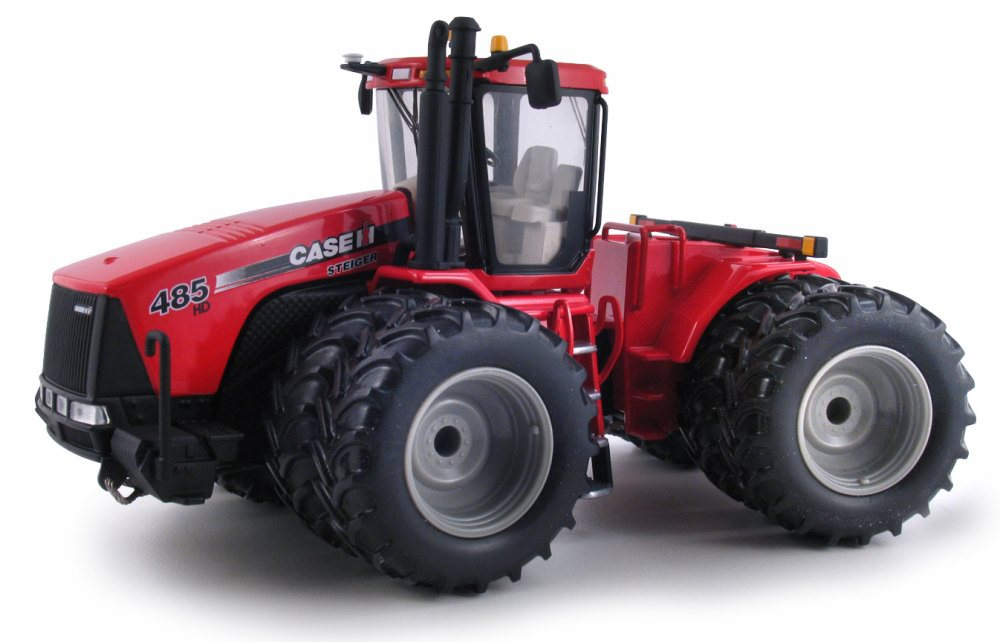 Case IH Steiger 485HD Tractor, Red First Gear 1 50 scale diecast model car by First Gear
