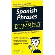 Spanish Phrases For Dummies - eBook