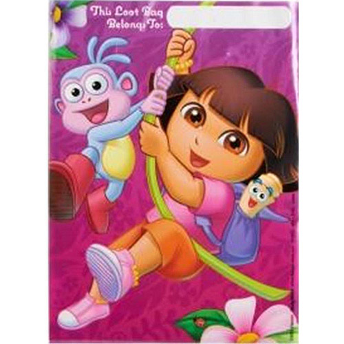 DesignWare Dora the Explorer Treat Sack, 8-Count