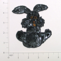 "Expo Int'l 4 1/2"" x 3 3/4"" Bunny Rabbit Sequin Applique"