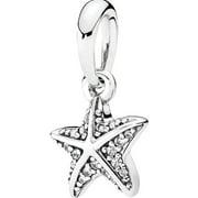 Tropical Starfish Pendant Charm - 390403CZ