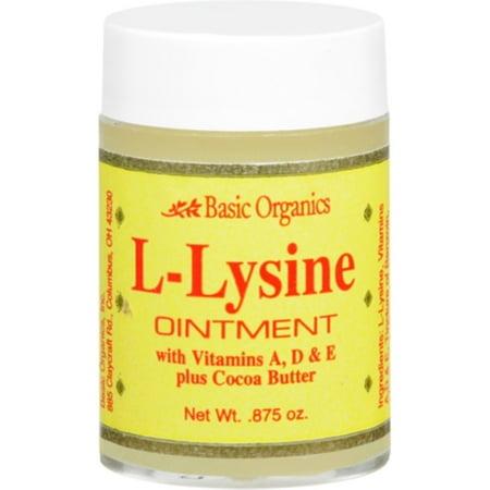 Basic Organics Basic Organics  Ointment, 0.875 oz