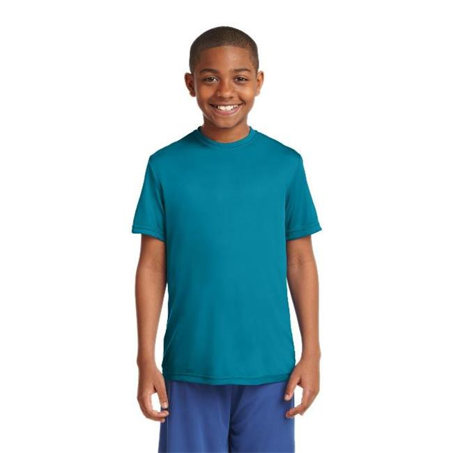 Sport-Tek® Youth Posicharge® Competitor™ Tee. Yst350 Tropic Blue Xl - image 1 of 1
