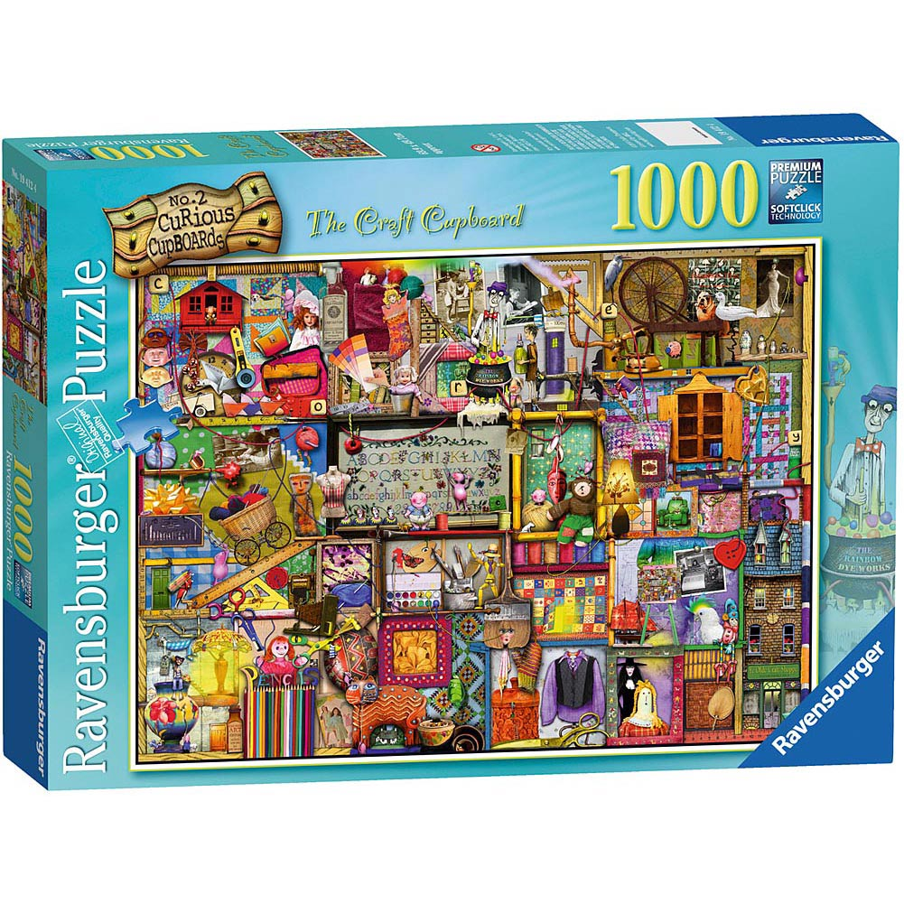 Craft Cupboard 1000 Piece Puzzle