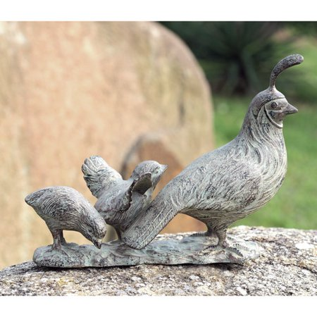 SPI Home Quail Family Figurine