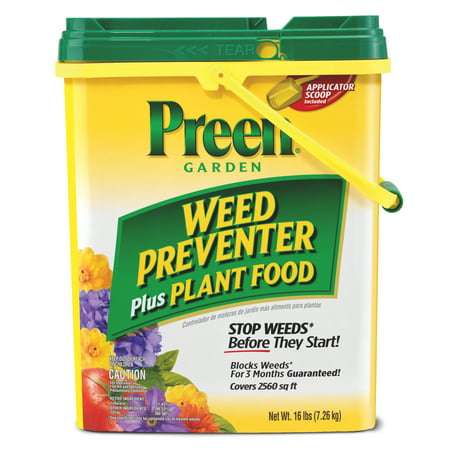 Image of Preen Garden Weed Preventer + Plant Food - 16 lb. - Covers 2,560 sq. ft.