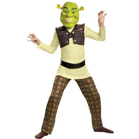 Morris Costumes Boys New Long Sleeve Shrek Classic Child Costume 4-6, Style DG86340L](Shreck Costumes)