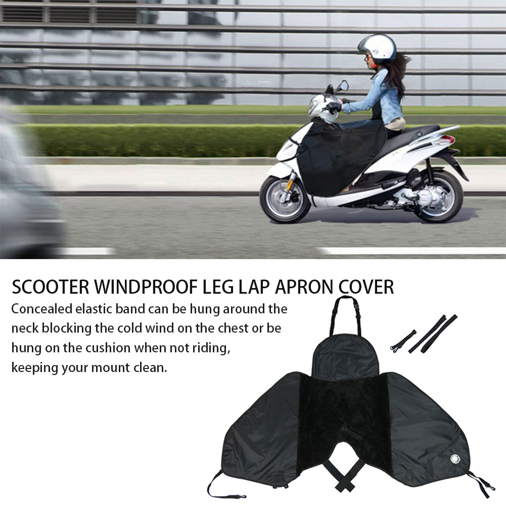 Easy-topbuy Scooter Windproof Leg Lap Apron Cover Waterproof Wear-resistant Warm Leg Protector For Scooter//Electric Car