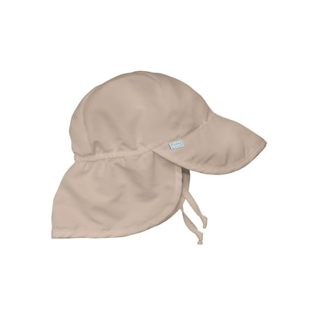 006ad189 Iplay - iPlay Solid Flap Sun Protection Hat Khaki - Toddler - Walmart.com