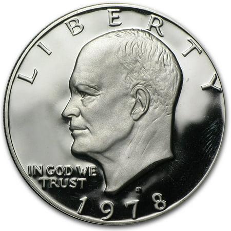 1978-S Eisenhower Dollar Clad Gem (Clad Proof Roll)
