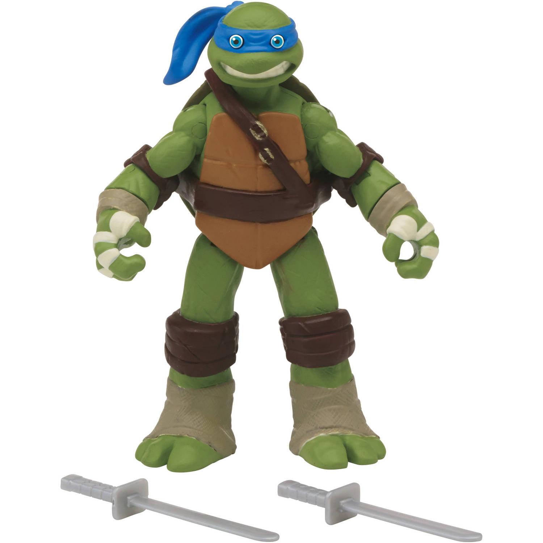 """Teenage Mutant Ninja Turtles 5"""" Eyes Pop Out Leonardo Basic Action Figure"""