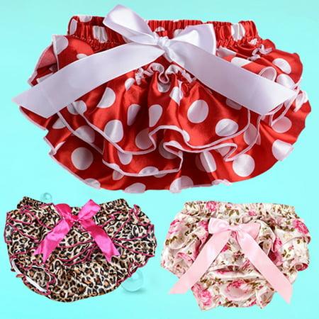 482b2e53a07d Heepo - Heepo Baby Girls Flower Dots Bowknot Pettiskirt Ruffle ...