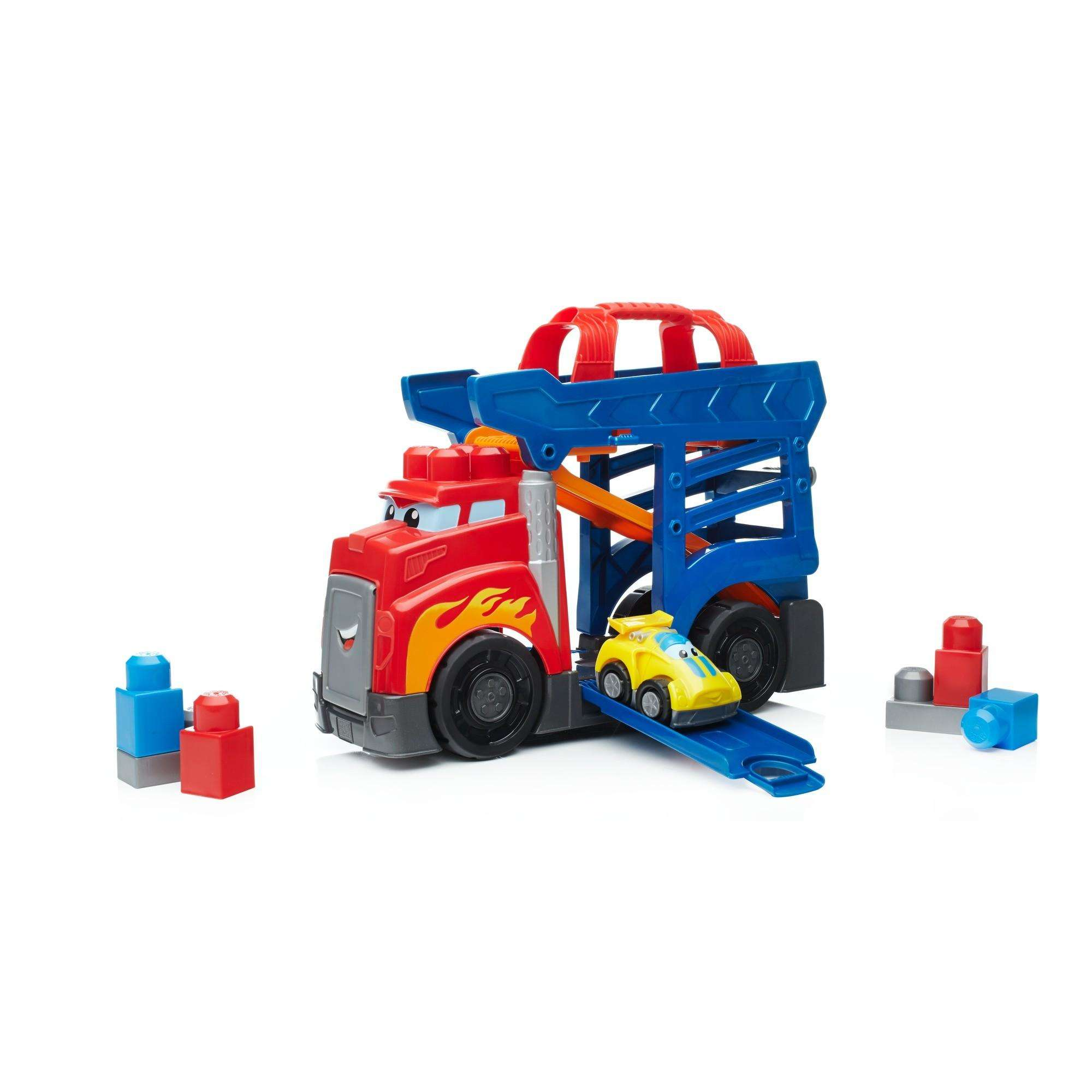 Mega Bloks First Builders Fast Tracks Racing Rig by Mattel