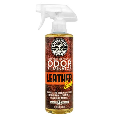 Chemical Guys Extreme Offensive Odor Eliminator Leather Scent (16 oz)