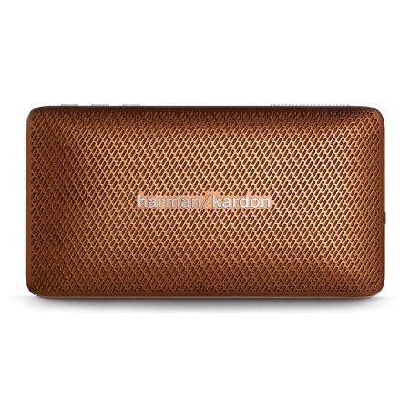 Harman Kardon Esquire Mini Brown Portable Bluetooth Speaker W Speakerphone