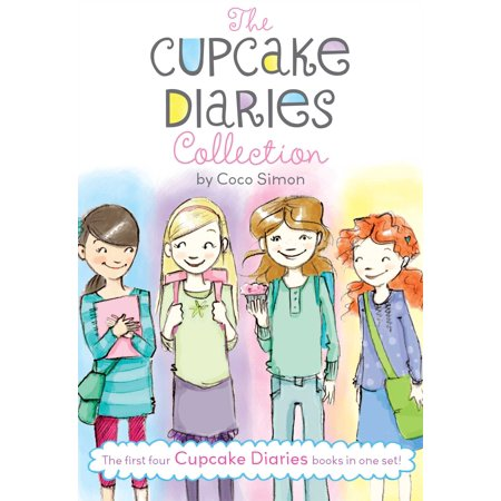 The Cupcake Diaries Collection : Katie and the Cupcake Cure; Mia in the Mix; Emma on Thin Icing; Alexis and the Perfect Recipe (Halloween Cupcake Recipes Uk)