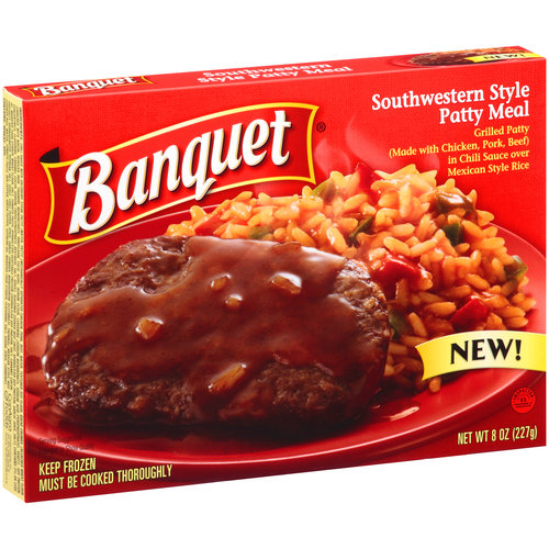 Banquet Southwestern Style Patty Meal, 8 oz