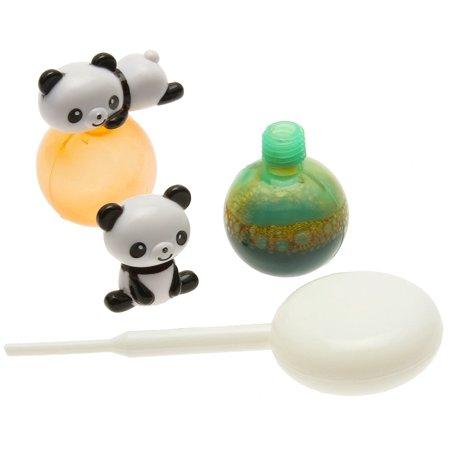 Kotobuki Panda Sauce Bottle Set for Bento Box, Mini (Sauce Mini Bottle)