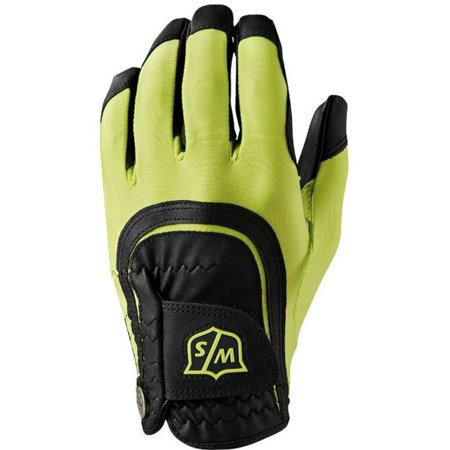 Wilson Staff Fit-All Grip Performance Golf Glove Right Handed Wear On Left