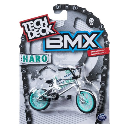 Bmx Finger Bike   Haro   Grey  Tech Deck Delivers Authentic Replica Bmx Bikes And Graphics From The Top Global Brands  By Tech Deck