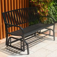 ABBLE DOUBLE SEATERS STEEL GLIDER