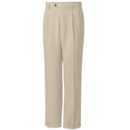 Pleated Golf - Cutter and Buck Twill Microfiber Pleated Golf Pants (Big and Tall) 2016