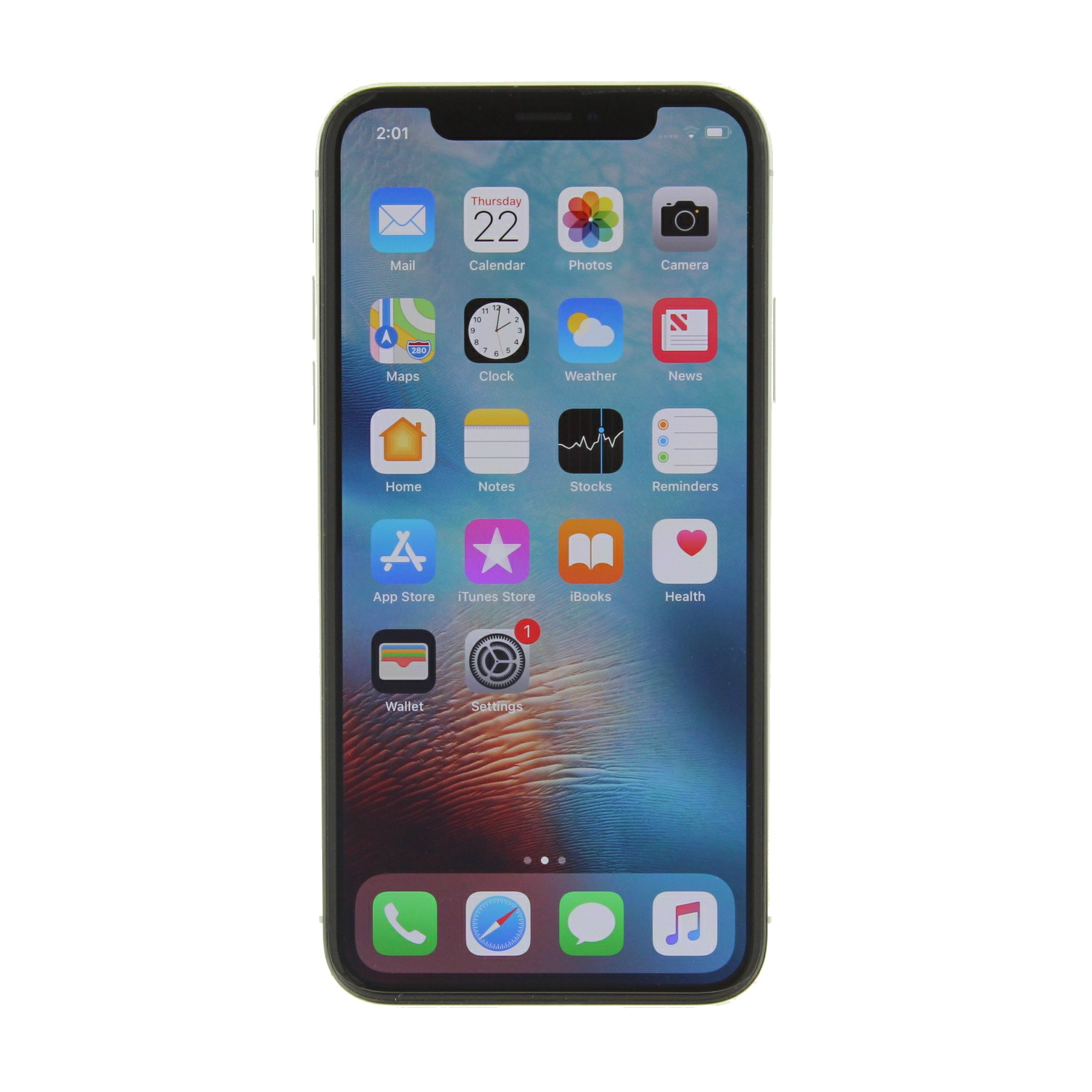 Apple iPhone X a1901 64GB GSM Unlocked (Refurbished ...