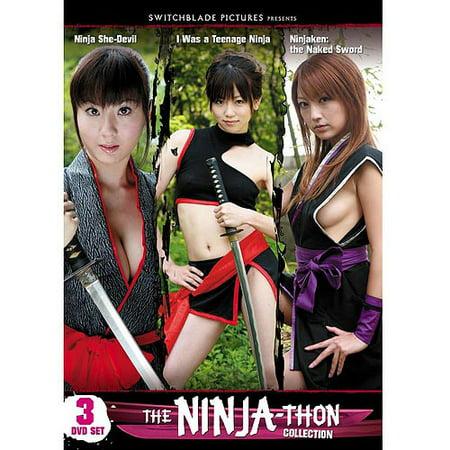 Ninja She-Devil / I Was A Teenage Ninja / Ninjaken: The Naked Sword](Real Ninja Weapons)