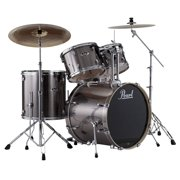 Pearl EXX725/C 5-Piece Export Standard Drum Set with Hardware - Smokey Chrome
