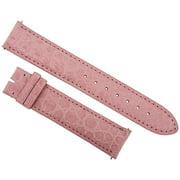 Hadley Roma  Matte Pink Alligator Leather Strap