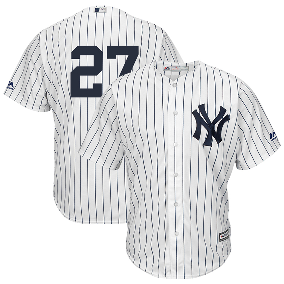 newest collection 44f6b 1e067 Giancarlo Stanton New York Yankees Majestic Cool Base Player Replica Jersey  - White
