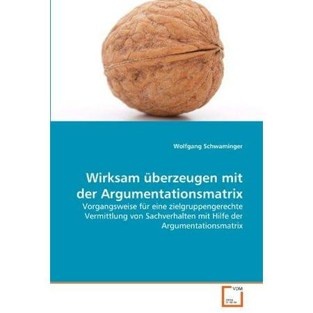 Wirksam Berzeugen Mit Der Argumentationsmatrix - image 1 of 1