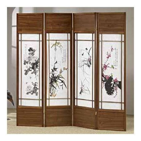Wildon Home 70 39 39 X 68 39 39 Shoji 4 Panel Room Divider