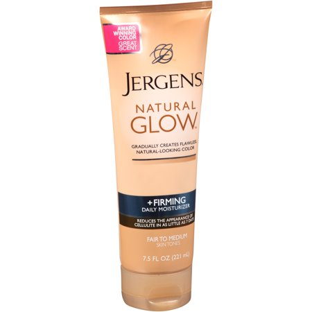 Jergens Natural Glow Daily Firming For Medium Skin Tones Moisturizer  7 5 Fl Oz