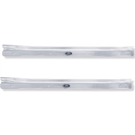 - Reproduction Door Sill Plates for 1968-79 Nova 2-Door, Pair