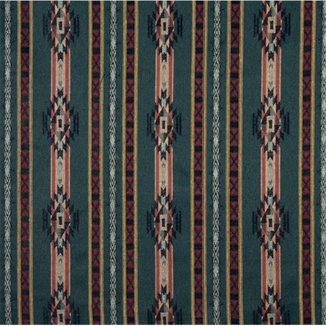Designer Fabrics F380 54 in. Wide Striped Southwestern, , Lodge Style Upholstery Grade Fabric