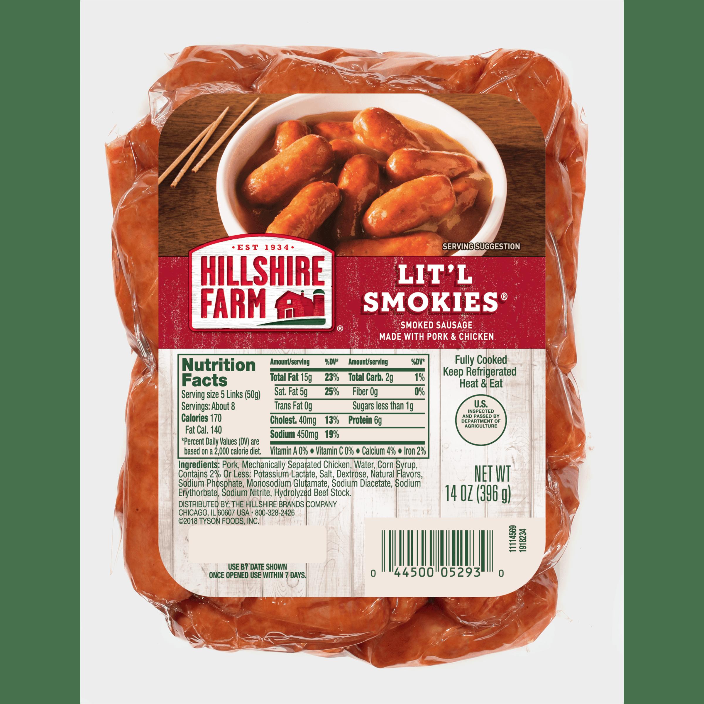 Hillshire Farm® Lit'l Smokies® Smoked Sausage, 14 oz.