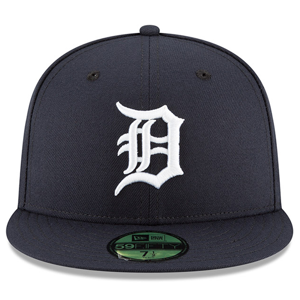 new styles f1934 1e719 Detroit Tigers New Era 2018 9 11 Authentic Collection 59FIFTY Fitted Hat -  Navy - Walmart.com