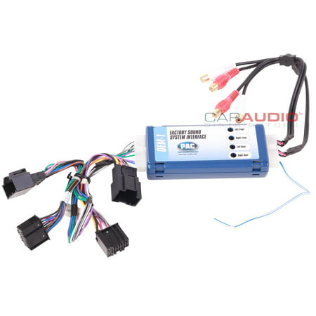 Pac Aoem Gm1416a Amplifier Integration Interface For General Motors Vehicles
