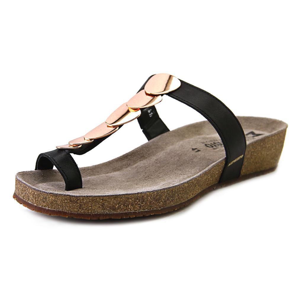 Mephisto Ileane Open Toe Leather Thong Sandal by Mephisto