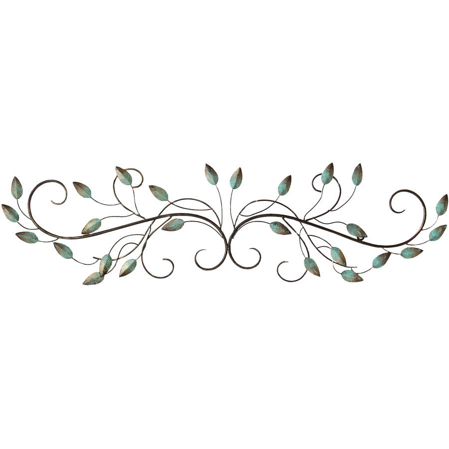 Stratton Home Decor Patina Scroll Leaf by Stratton Home Decor