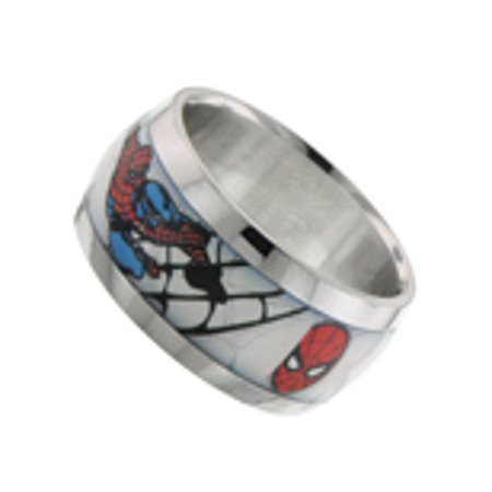 Spider-Man Graphic Ring Size 10