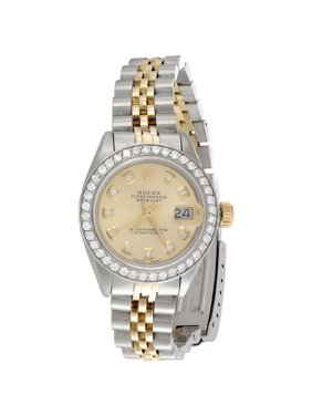 Product Image Ladies 18K   Steel Rolex DateJust Jubilee 6917 Diamond Watch  Champagne Dial 1 CT. 247a5e57ac